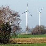 Foto einer Windkraftanlage für die Energiewende