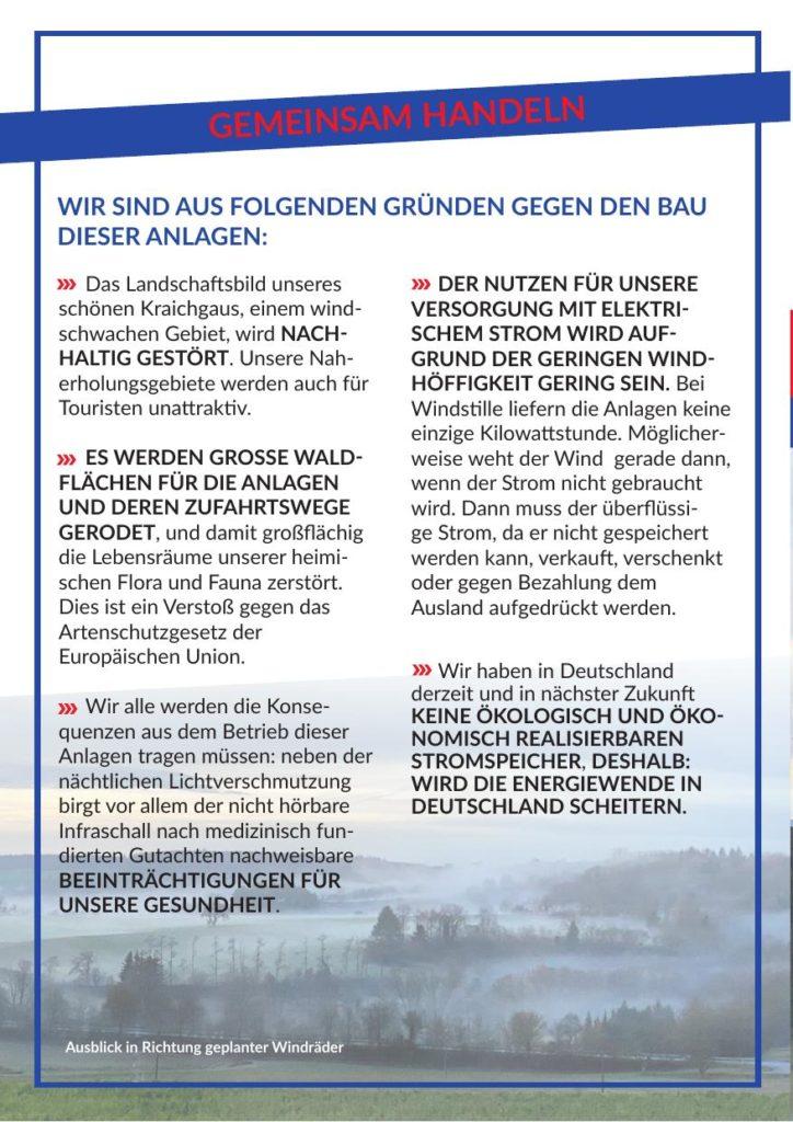 Flyer: EnBW plant Windpark in Weingarten - Seite 4